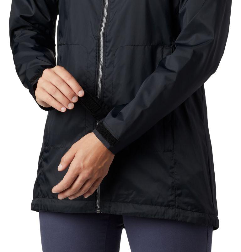 Switchback™ Lined Long Jacket | 010 | XS Women's Switchback™ Lined Long Jacket, Black, a3