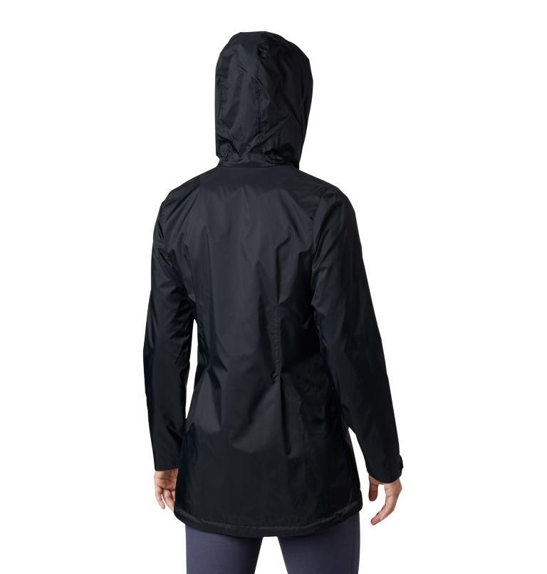 Switchback™ Lined Long Jacket | 010 | XS Women's Switchback™ Lined Long Jacket, Black, back