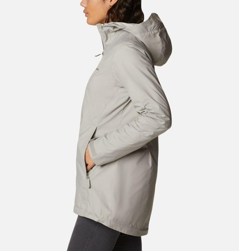 Switchback™ Lined Long Jacket | 027 | L Women's Switchback™ Lined Long Jacket, Flint Grey, Chalk Lining, a1