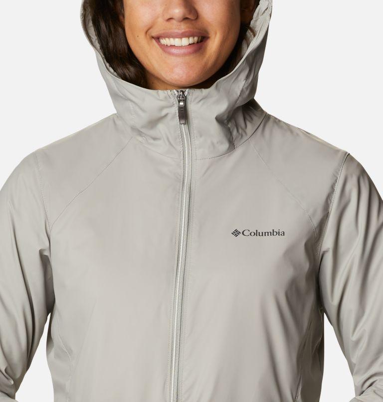 Switchback™ Lined Long Jacket | 027 | L Women's Switchback™ Lined Long Jacket, Flint Grey, Chalk Lining, a2