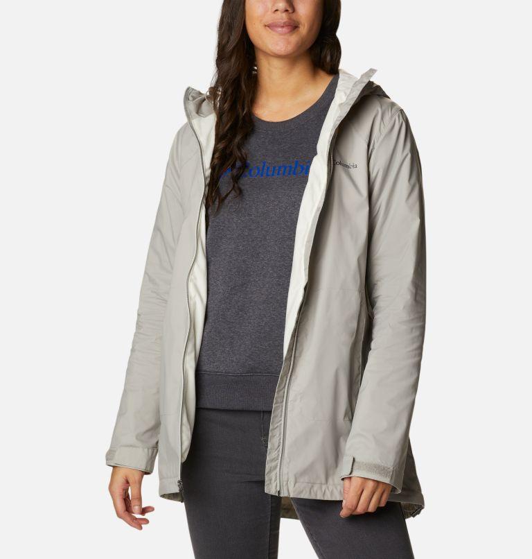 Switchback™ Lined Long Jacket   027   XS Women's Switchback™ Lined Long Jacket, Flint Grey, Chalk Lining, a5