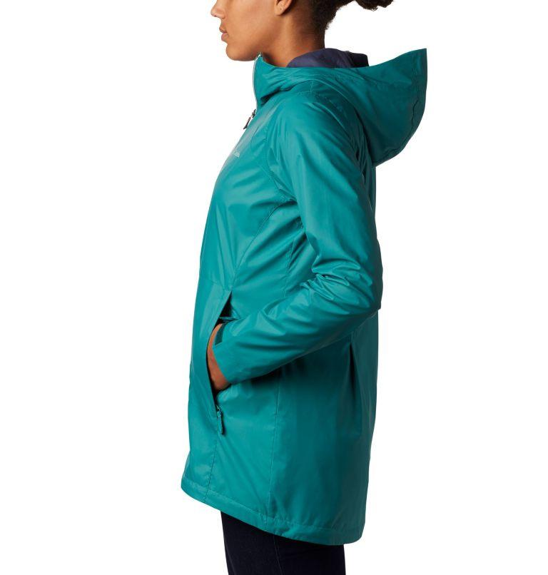 Switchback™ Lined Long Jacket   340   XS Women's Switchback™ Lined Long Jacket, Waterfall, Nocturnal Lining, a1