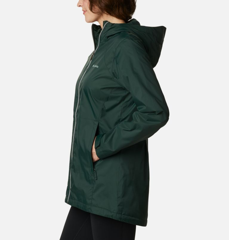 Switchback™ Lined Long Jacket | 370 | M Women's Switchback™ Lined Long Jacket, Spruce, a1