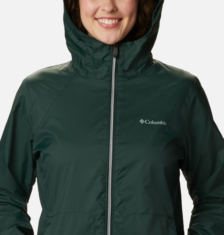 Switchback™ Lined Long Jacket | 370 | M Women's Switchback™ Lined Long Jacket, Spruce, a2