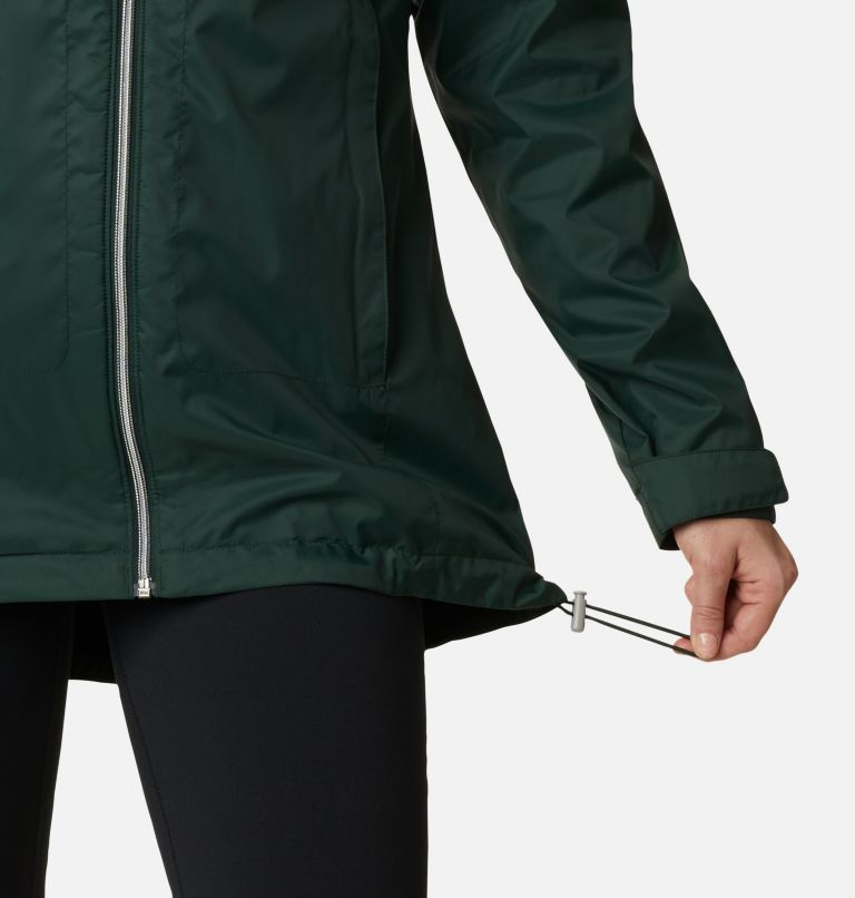Switchback™ Lined Long Jacket | 370 | M Women's Switchback™ Lined Long Jacket, Spruce, a4