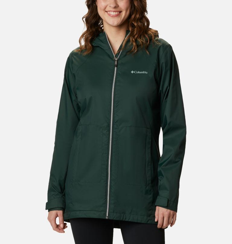 Switchback™ Lined Long Jacket | 370 | M Women's Switchback™ Lined Long Jacket, Spruce, front