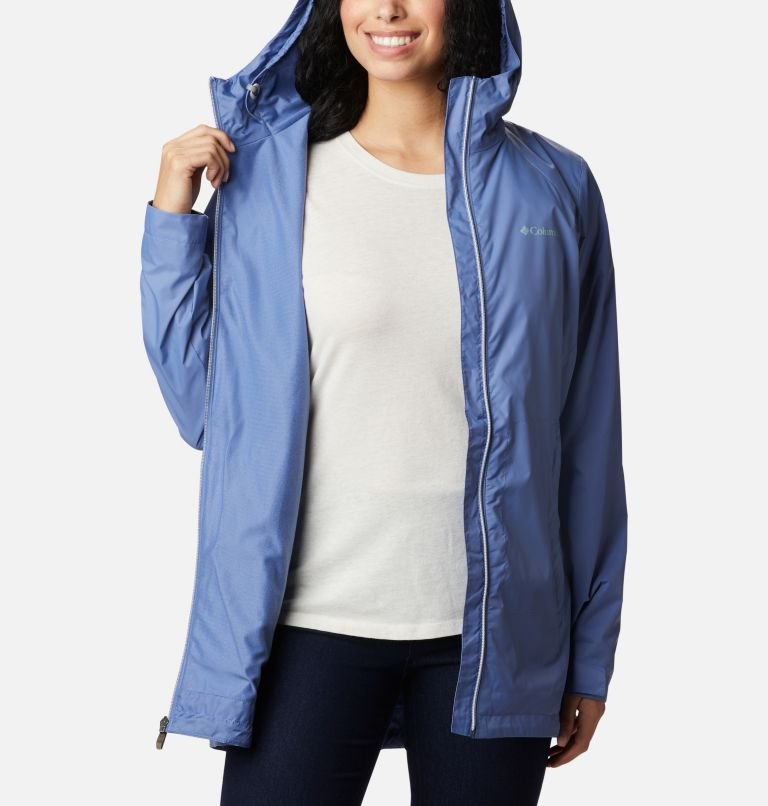 Switchback™ Lined Long Jacket | 458 | XS Women's Switchback™ Lined Long Jacket, Velvet Cove, a3