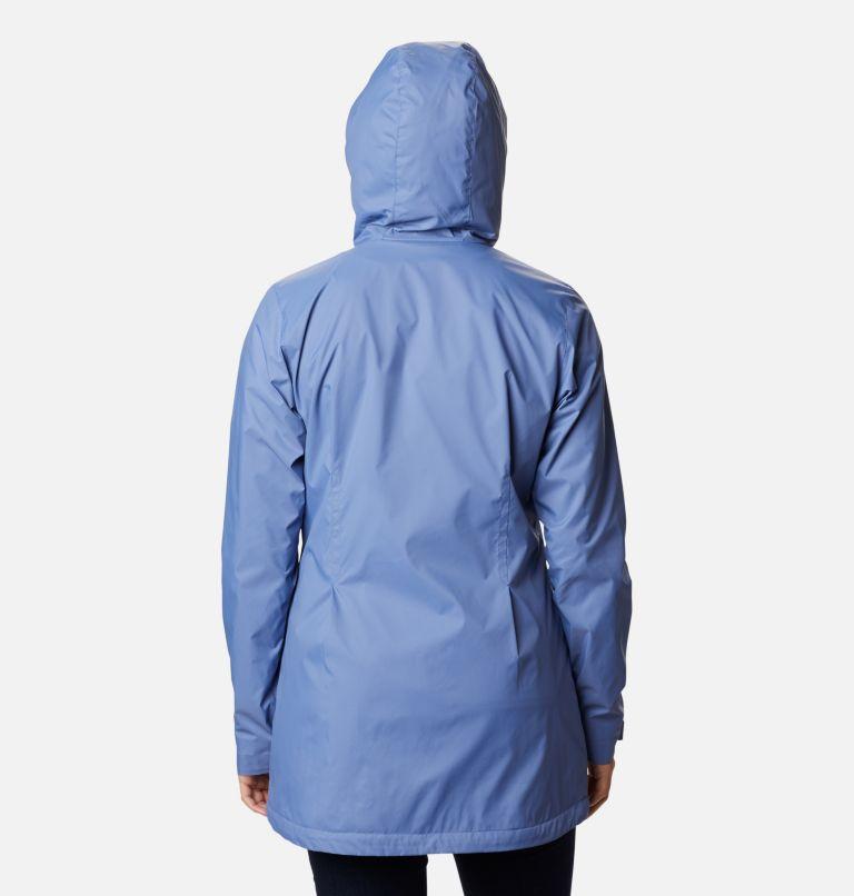 Switchback™ Lined Long Jacket | 458 | XS Women's Switchback™ Lined Long Jacket, Velvet Cove, back