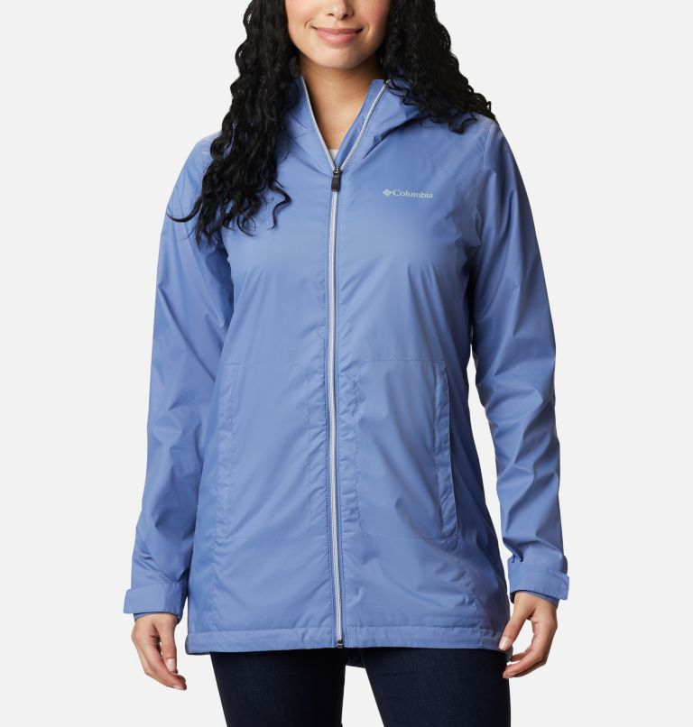 Switchback™ Lined Long Jacket | 458 | M Women's Switchback™ Lined Long Jacket, Velvet Cove, front