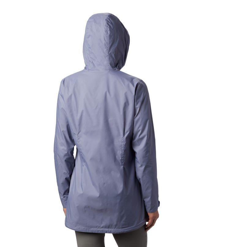 Switchback™ Lined Long Jacket | 556 | XXL Women's Switchback™ Lined Long Jacket, New Moon, Twilight Lining, back