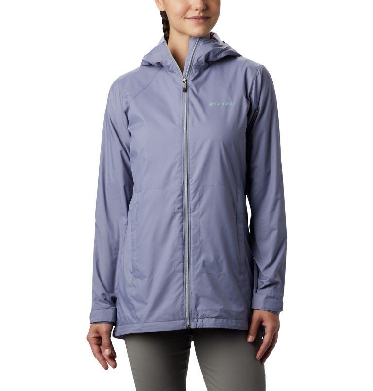 Switchback™ Lined Long Jacket | 556 | XXL Women's Switchback™ Lined Long Jacket, New Moon, Twilight Lining, front