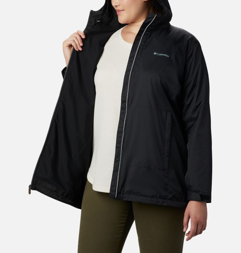 Women's Switchback™ Lined Long Jacket - Plus Size Women's Switchback™ Lined Long Jacket - Plus Size, a3