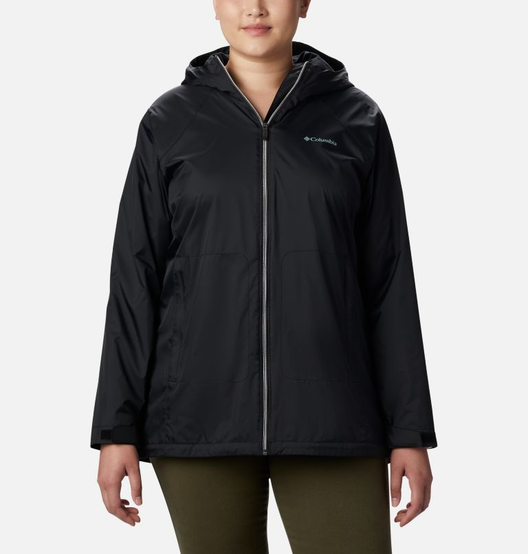 Women's Switchback™ Lined Long Jacket - Plus Size Women's Switchback™ Lined Long Jacket - Plus Size, front
