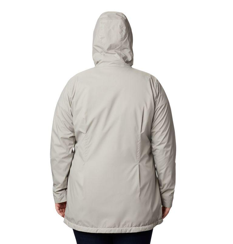 Women's Switchback™ Lined Long Jacket - Plus Size Women's Switchback™ Lined Long Jacket - Plus Size, back