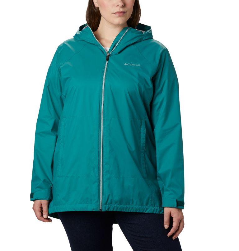 Women's Switchback™ Lined Long Jacket - Plus Size Women's Switchback™ Lined Long Jacket - Plus Size, front