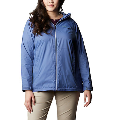 Women's Switchback™ Lined Long Jacket - Plus Size Switchback™ Lined Long Jacket | 671 | 2X, Velvet Cove, front