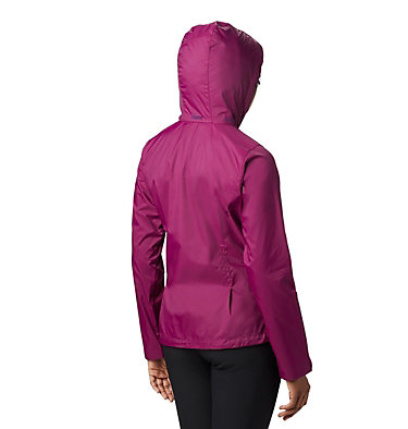 Women's Switchback™ III Jacket Switchback™ III Jacket | 671 | XS, Dark Raspberry, back