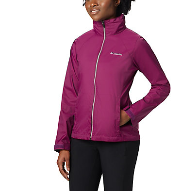 Women's Switchback™ III Jacket Switchback™ III Jacket | 671 | XS, Dark Raspberry, front