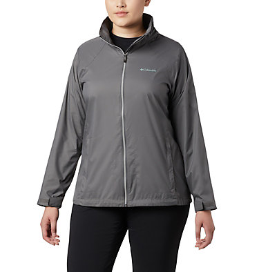 Women's Switchback™ III Jacket - Plus Size Switchback™ III Jacket | 671 | 3X, City Grey, front