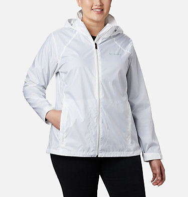 Women's Switchback™ III Jacket - Plus Size Switchback™ III Jacket | 671 | 3X, White, front