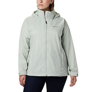 Women's Switchback™ III Jacket - Plus Size Switchback™ III Jacket | 671 | 3X, Cool Green, front