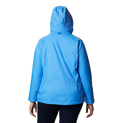 Women's Switchback™ III Jacket - Plus Size Switchback™ III Jacket | 671 | 3X, Harbor Blue, back