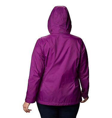 Women's Switchback™ III Jacket - Plus Size Switchback™ III Jacket | 671 | 3X, Plum, back