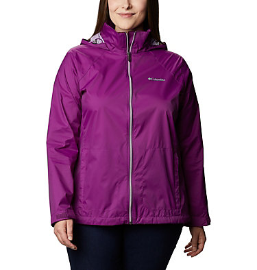 Women's Switchback™ III Jacket - Plus Size Switchback™ III Jacket | 671 | 3X, Plum, front
