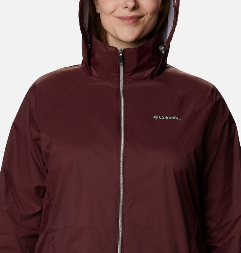 Switchback™ III Jacket | 671 | 3X Women's Switchback™ III Jacket - Plus Size, Malbec, a2