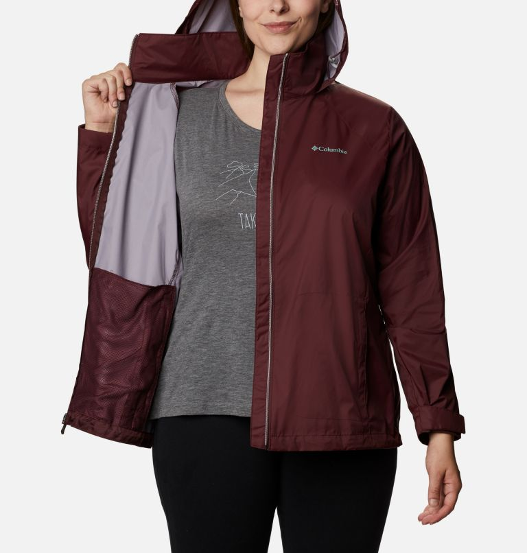 Switchback™ III Jacket | 671 | 1X Women's Switchback™ III Jacket - Plus Size, Malbec, a3