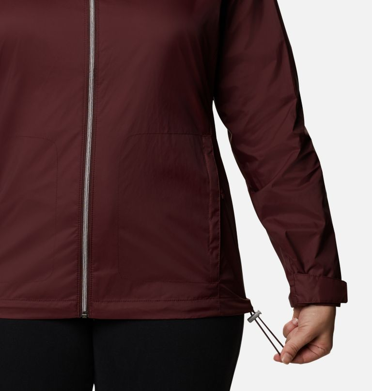 Switchback™ III Jacket | 671 | 1X Women's Switchback™ III Jacket - Plus Size, Malbec, a4