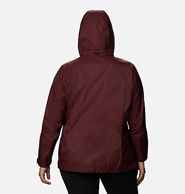 Women's Switchback™ III Jacket - Plus Size Switchback™ III Jacket | 671 | 3X, Malbec, back