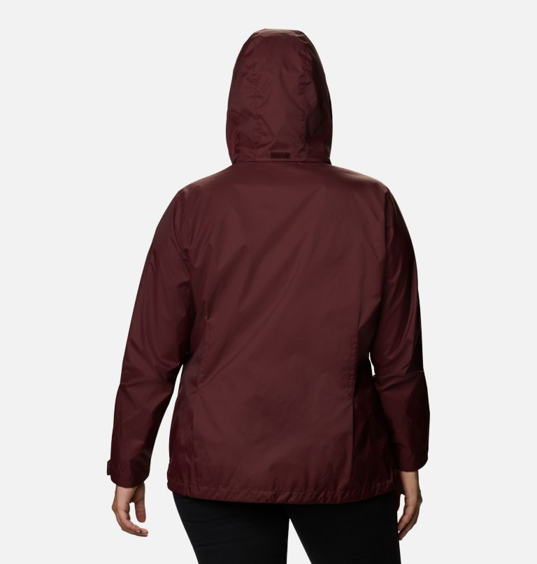 Switchback™ III Jacket | 671 | 1X Women's Switchback™ III Jacket - Plus Size, Malbec, back
