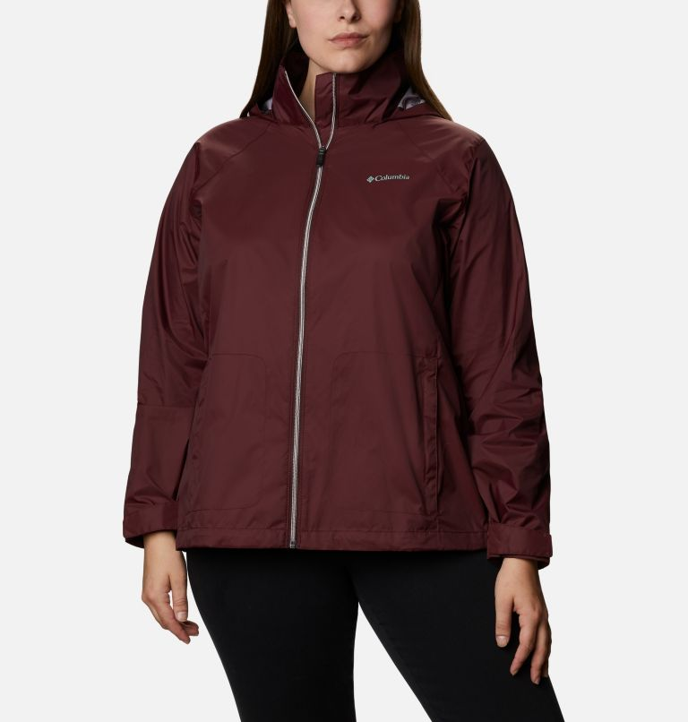 Switchback™ III Jacket | 671 | 3X Women's Switchback™ III Jacket - Plus Size, Malbec, front