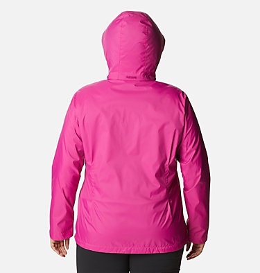 Women's Switchback™ III Jacket - Plus Size Switchback™ III Jacket | 671 | 3X, Fuchsia, back