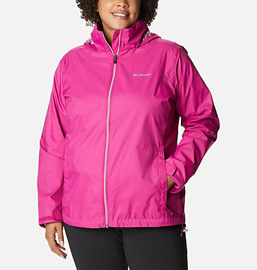 Women's Switchback™ III Jacket - Plus Size Switchback™ III Jacket | 671 | 3X, Fuchsia, front