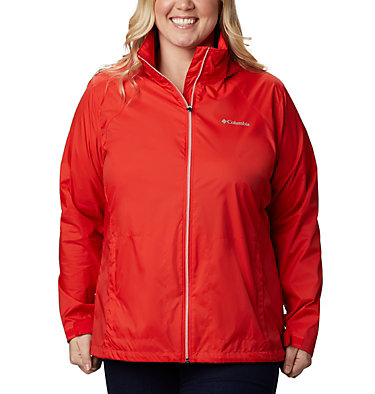 Manteau Switchback™ III pour femme - Grandes tailles Switchback™ III Jacket | 729 | 1X, Bold Orange, front