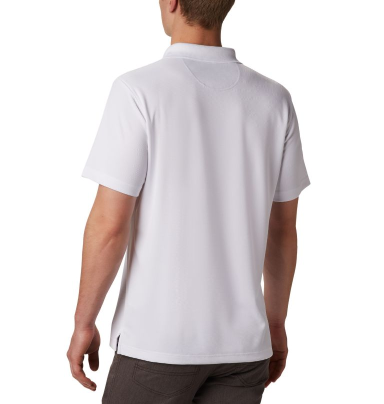 Utilizer™ Polo   100   XXL Men's Utilizer™ Polo Shirt, White, back