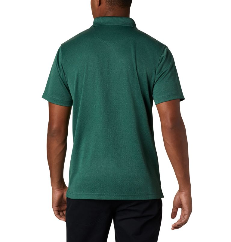 Utilizer™ Polo | 377 | XL Men's Utilizer™ Polo Shirt, Rain Forest Heather, back