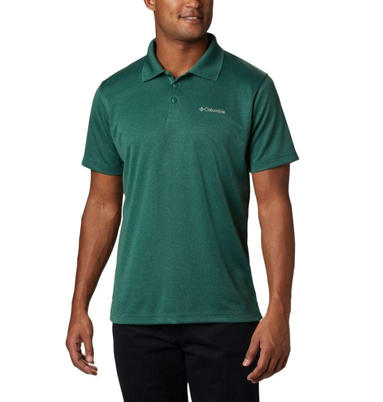 Utilizer™ Polo | 377 | XL Men's Utilizer™ Polo Shirt, Rain Forest Heather, front