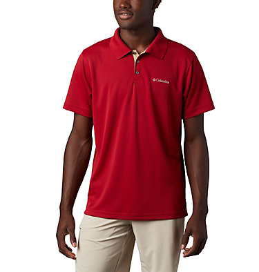 Men's Utilizer™ Polo Shirt Utilizer™ Polo | 664 | L, Red Velvet, front