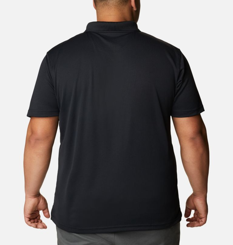 Utilizer™ Polo | 010 | 1X Men's Utilizer™ Polo - Big, Black, back