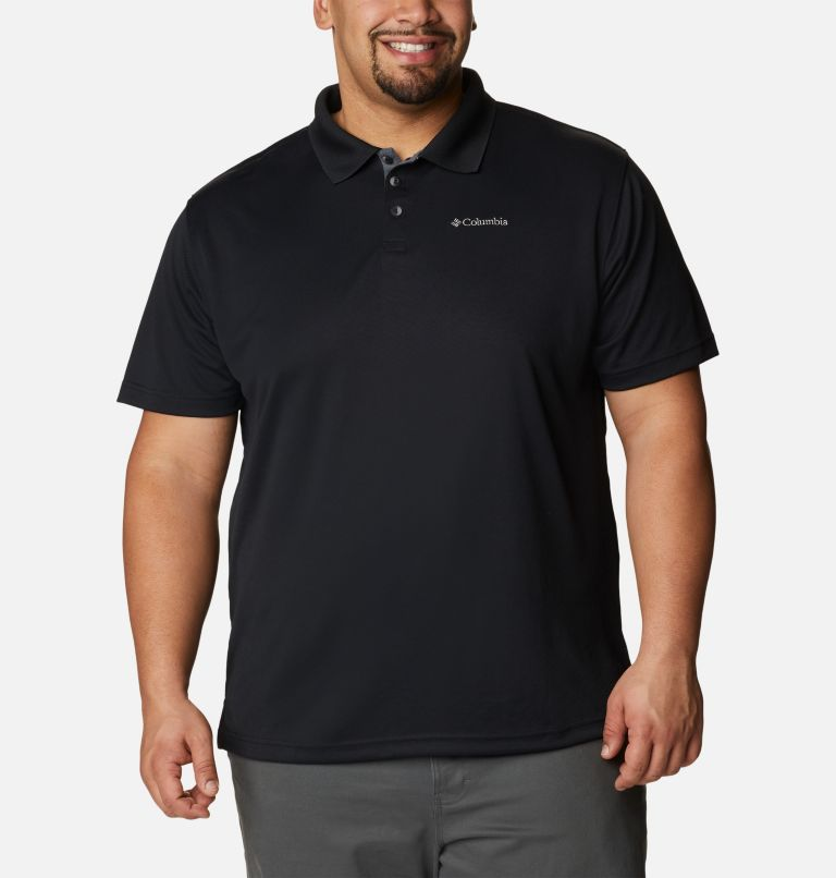 Utilizer™ Polo | 010 | 1X Men's Utilizer™ Polo - Big, Black, front