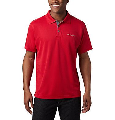 Men's Utilizer™ Polo - Tall Utilizer™ Polo | 613 | 2XT, Mountain Red, front