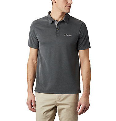 Men's Nelson Point™ Polo Nelson Point™ Polo | 441 | M, Shark, front