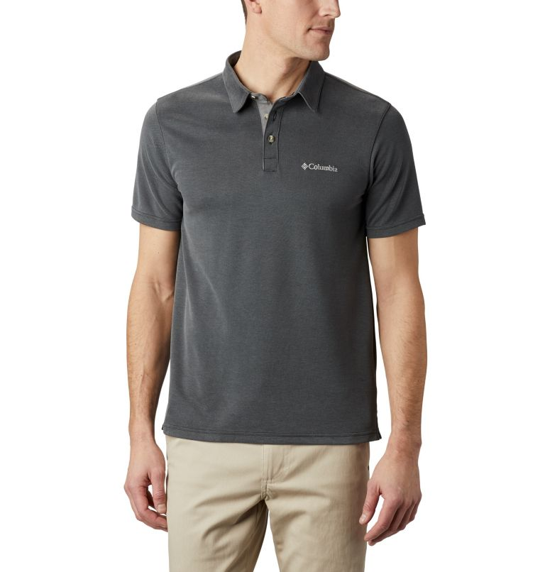 Nelson Point™ Polo | 011 | S Men's Nelson Point™ Polo, Shark, front