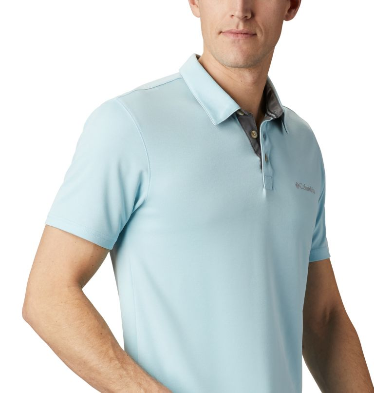 Nelson Point™ Polo | 427 | M Men's Nelson Point™ Polo, Sky Blue, a3