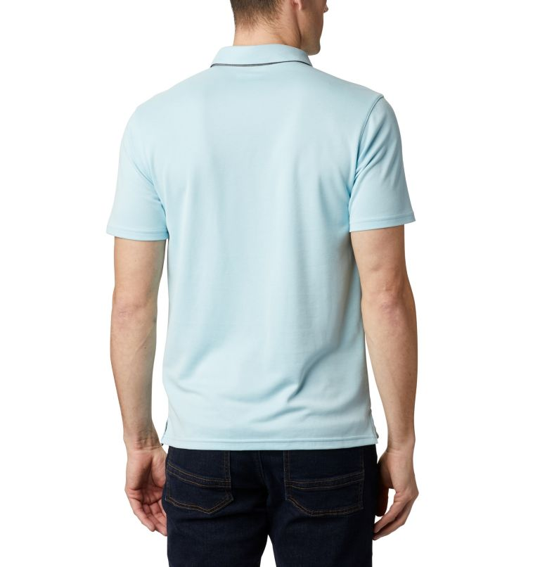 Nelson Point™ Polo | 427 | M Men's Nelson Point™ Polo, Sky Blue, back
