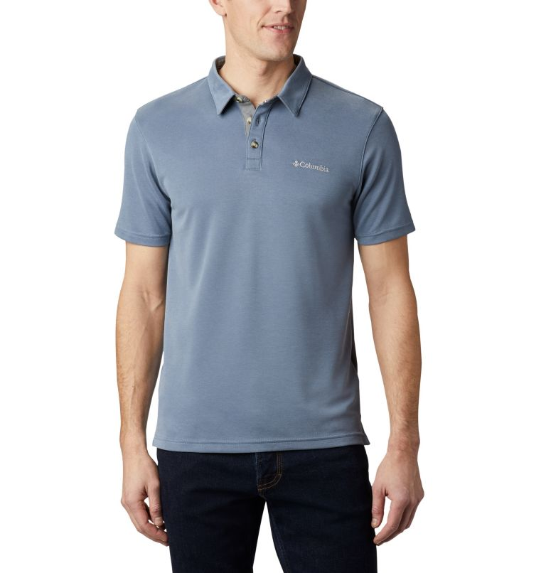 Nelson Point™ Polo | 441 | XL Polo Nelson Point™ da uomo, Mountain, front