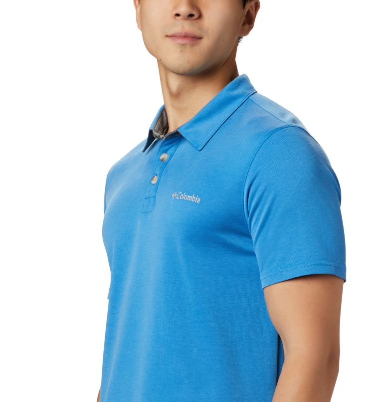 Nelson Point™ Polo | 463 | S Polo Nelson Point™ da uomo, Azure Blue, a1